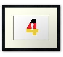 Germany World Cup Framed Print