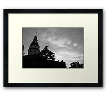 Annapolis, Maryland State House Framed Print
