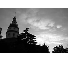 Annapolis, Maryland State House Photographic Print
