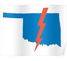 Thunder Up Oklahoma Poster