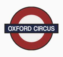 Oxford Circus by erinaugusta