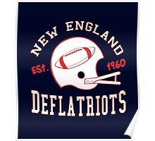 Deflate Gate - Vintage New England Deflatriots Est 1960 Poster