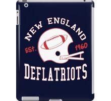 Deflate Gate - Vintage New England Deflatriots Est 1960 iPad Case/Skin
