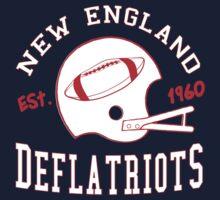 Deflate Gate - Vintage New England Deflatriots Est 1960 by bestnevermade