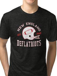 Deflate Gate - Vintage New England Deflatriots Est 1960 Tri-blend T-Shirt