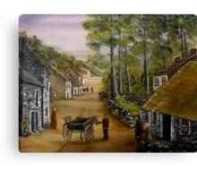 Old Irish Village Canvas Print