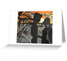 Sunset Vision with You Greeting Card