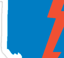 Thunder Up Oklahoma Sticker
