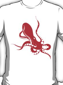 red octopus T-Shirt