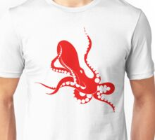 red octopus Unisex T-Shirt