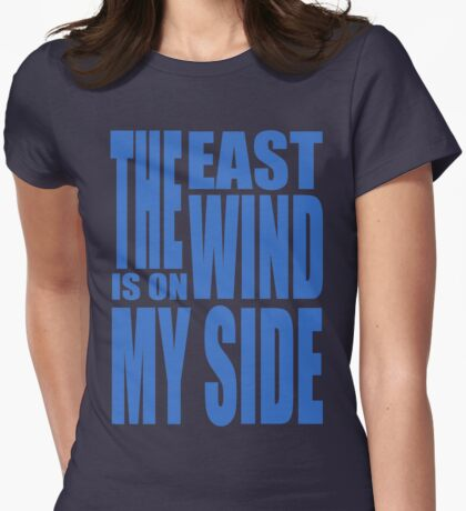 BBC Sherlock - the East Wind  Womens Fitted T-Shirt