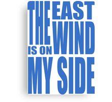 BBC Sherlock - East Wind tee Canvas Print