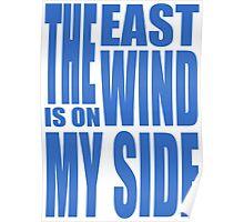 BBC Sherlock - East Wind tee Poster