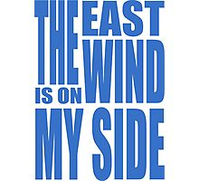 BBC Sherlock - the East Wind  Photographic Print