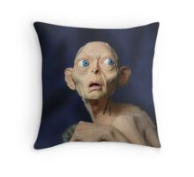 smeagol Throw Pillow