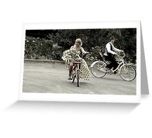 ~...and in a Split Second~ Greeting Card