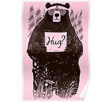 Free Bear Hugs Poster