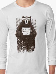 Free Bear Hugs Long Sleeve T-Shirt