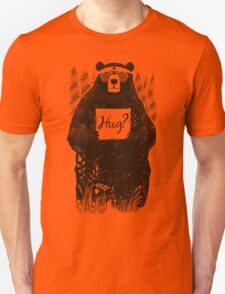 Free Bear Hugs Unisex T-Shirt
