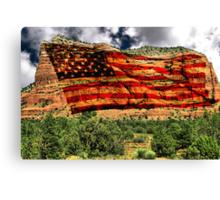 USA Rocks Canvas Print