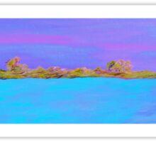 Sky, Shore, and Sea Sticker