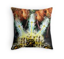 Ghosts in The Machine Throw Pillow