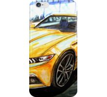 '15 Mustang Empire State Building  iPhone Case/Skin