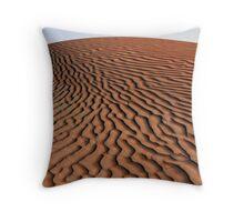 Dune and Sky Throw Pillow