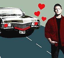 Baby Loves Dean  by katstpete