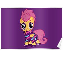 My Little Pony Cutie Mark Crusader Scootaloo Poster