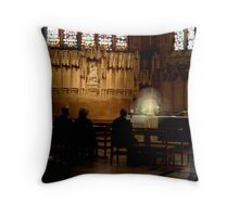 Jesus Light of the World Throw Pillow