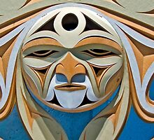 Wooden Mask by phil decocco
