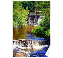 Old Mill Pond Poster