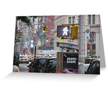 Life in the Big City Greeting Card