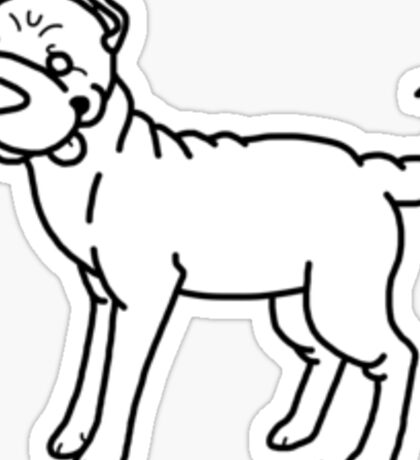 Shar Pei Sticker