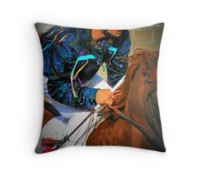 Majestic Power & Silks Throw Pillow