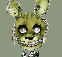 FIVE NIGHTS AT FREDDY'S 3- SPRINGTRAP by acidiic