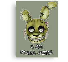 FIVE NIGHTS AT FREDDY'S 3- SPRINGTRAP Canvas Print
