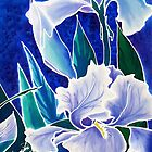 Silk Iris by Francine Dufour Jones