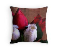 A Bruised Tribute Throw Pillow