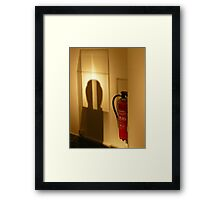 Extinguisher in the museum... Framed Print
