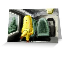 Daily Commute Greeting Card