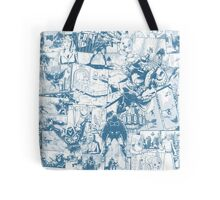 From Above Comic Tote Bag