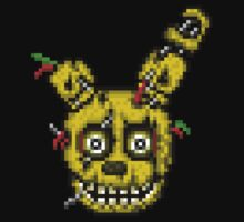 Five Nights at Freddy's 3 - Pixel art - SpringTrap / Golden Bonnie / Rotten Bonnie Kids Clothes