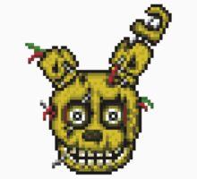 Five Nights at Freddy's 3 - Pixel art - SpringTrap / Golden Bonnie / Rotten Bonnie Kids Clothes