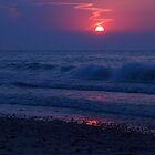 purple waves by Hannah Grubb