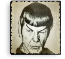 Spock, Leonard Nimoy drawing Metal Print
