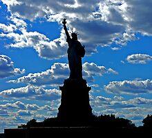 Lady Liberty by Béla Török