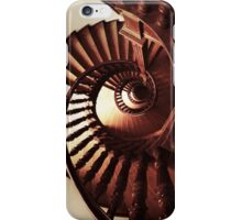 Ornamented spiral staircase iPhone Case/Skin