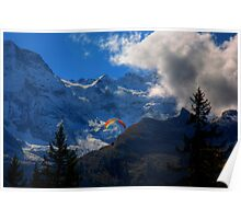 Paraglider 5 - murren Poster